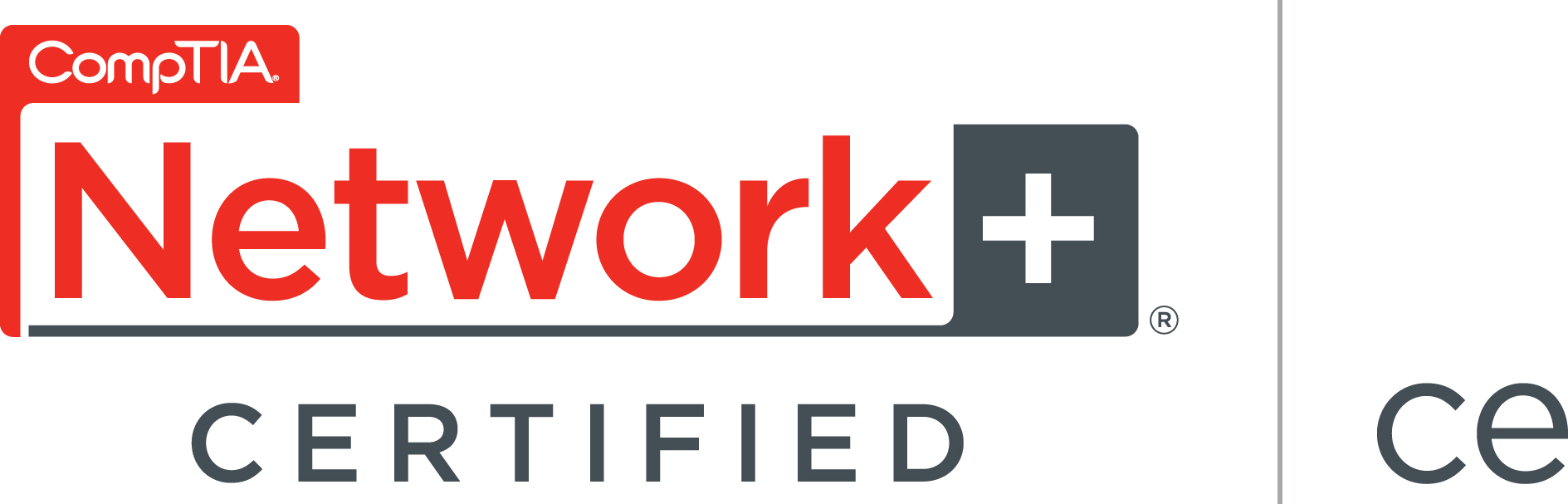 CompTIA Network+ Certifed logo